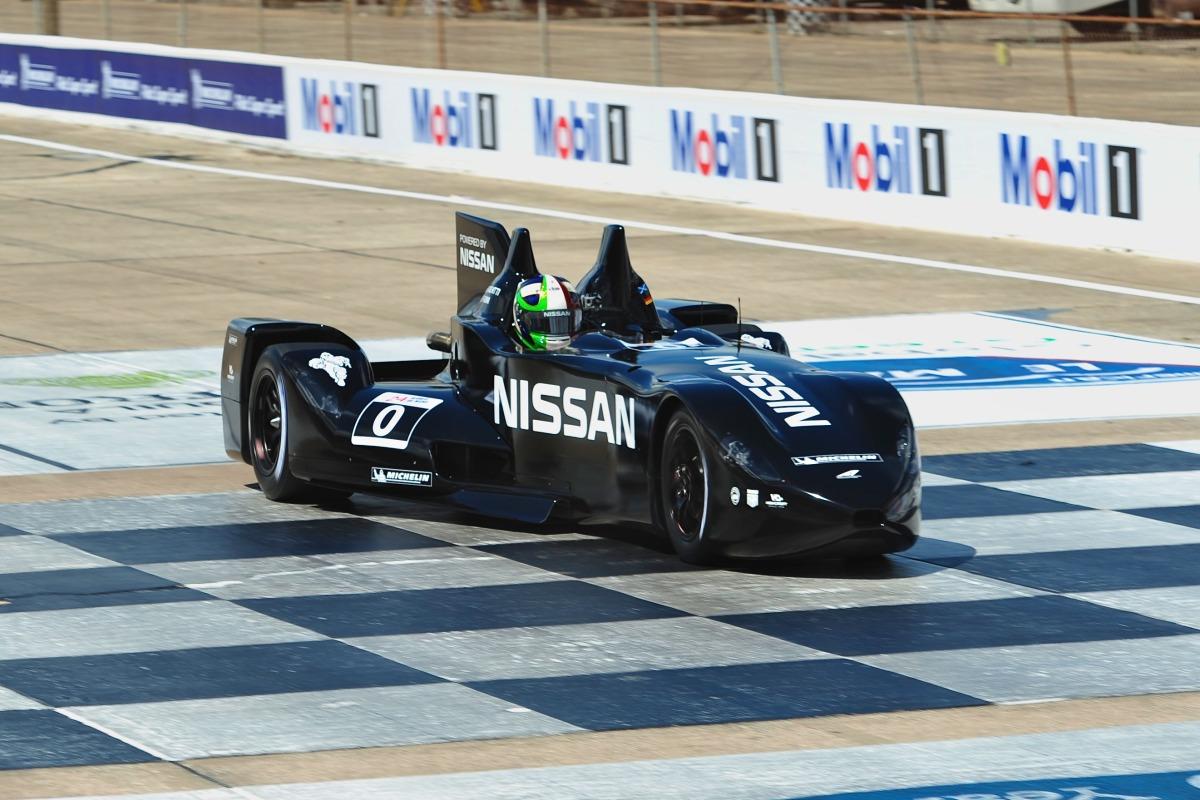 Nissan Deltawing aux 24 heures du Mans 2012