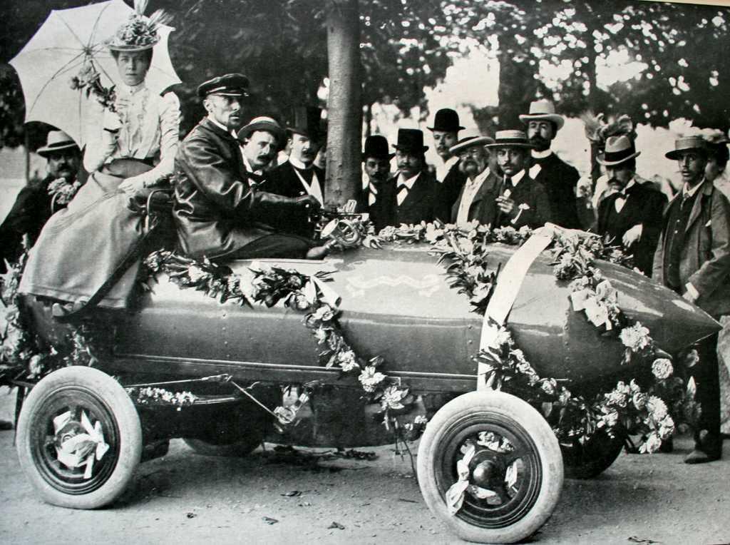 Les premières voitures électrique