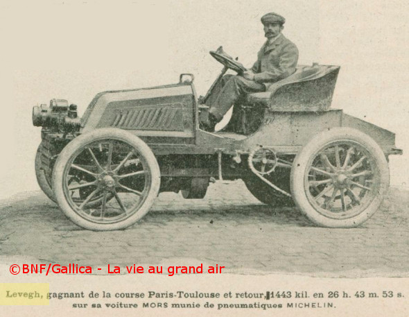 1900 levegh sur Mors paris toulouse paris
