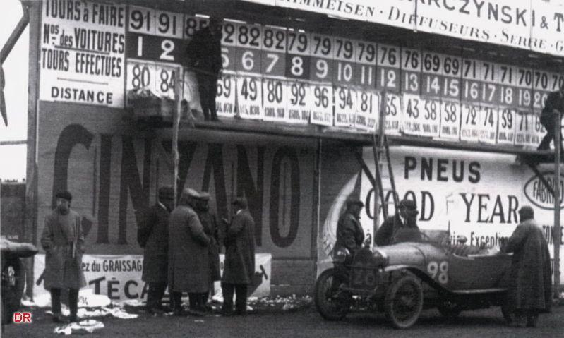 Enquête Le Mans 1923