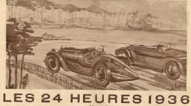 24h lemans 1936 Annulation