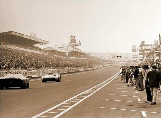 Le Mans 1969 - Hans Herrmann Vs Jacky Ickx