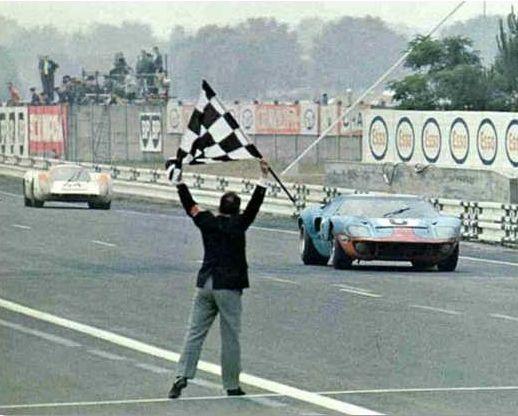 Le Mans 1969 - Jacky Ickx devance Hans Herrmann