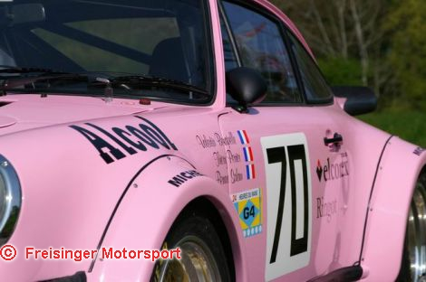lm1981 70 Porsche 934 T Panthere rose