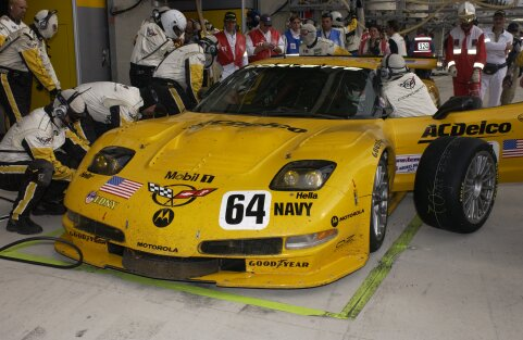 LeMans 2002 Corvette Racing