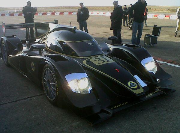 Lola Lotus LMP2 premiers tests