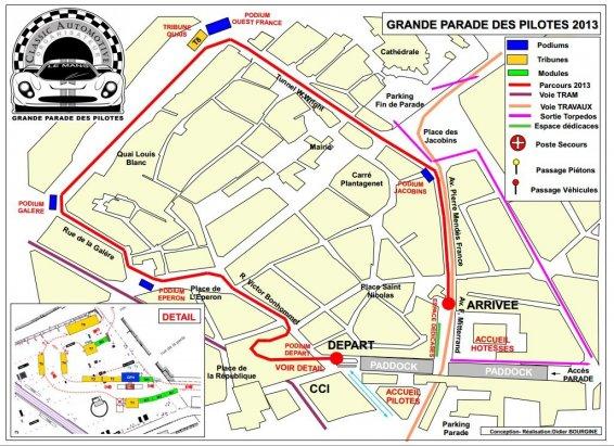 Plan Parade des pilotes 2013