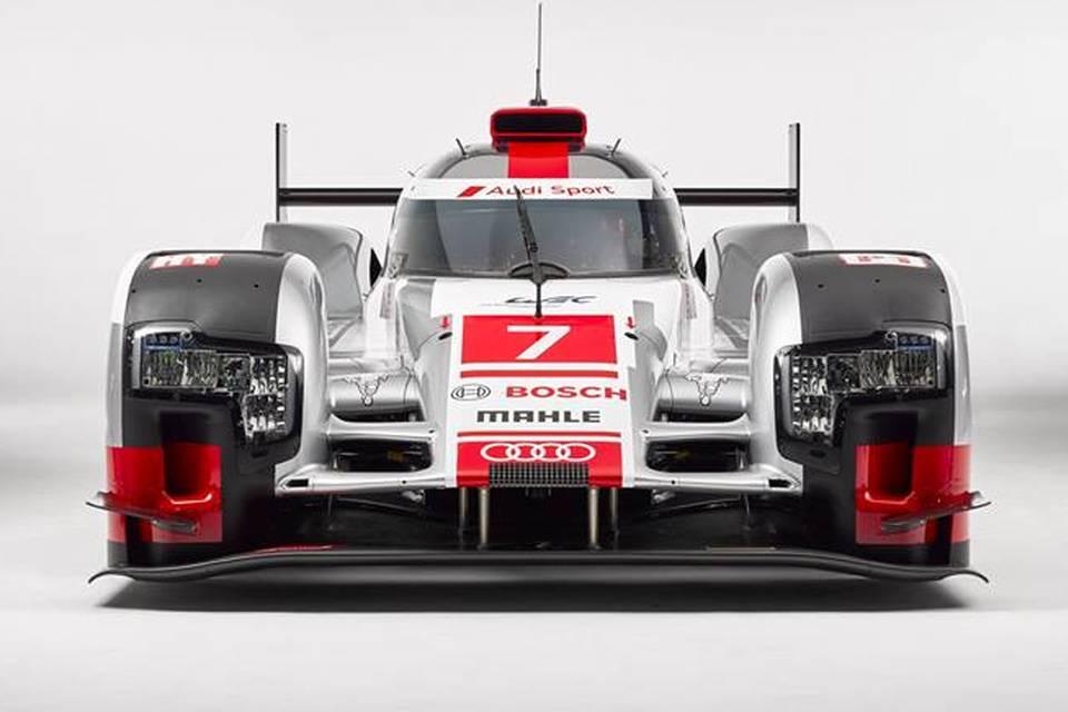Face avant Audi R18 LeMans 2015