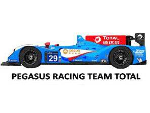 24h LeMans 2015 Pegasus Racing Team Total