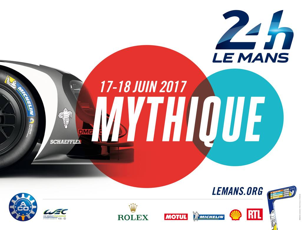 poster 24 hours of LeMans 2017