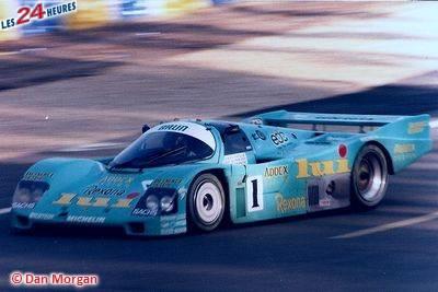 Le Mans 1987 Porsche Brun no 1