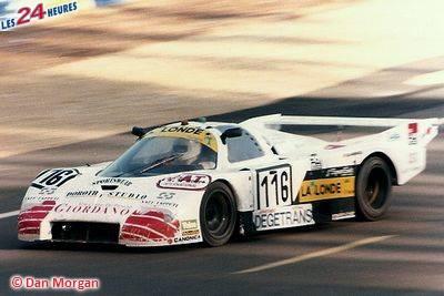 24h du Mans 1987 Alba 116