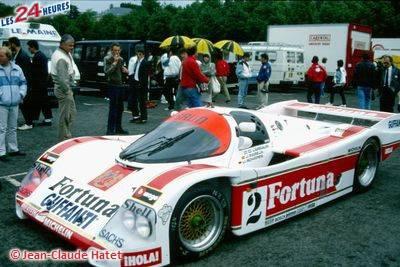 Le Mans 1987 Porsche Brun no 2