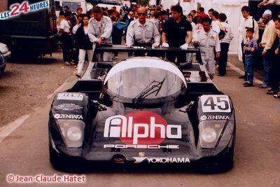 Le Mans 1990 Porsche 962 N°45