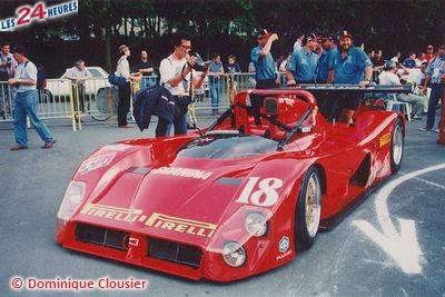 Le Mans 1996 Ferrari Rocket Sports Racing