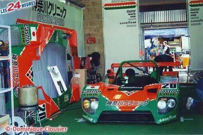 Le Mans 1996 Mazd