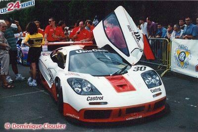 Le Mans 1996 McLaren West 30