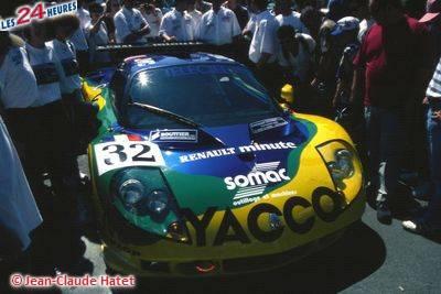24h du Mans 1996 Legeay Sport Renault Spider 32