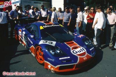 Le Mans 1996 McLaren Gulf 33