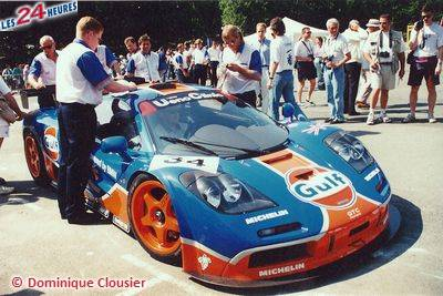 Le Mans 1996 McLaren Gulf 34