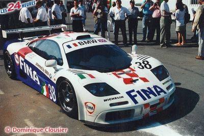 Le Mans 1996 McLaren F1 Bigazzi 38