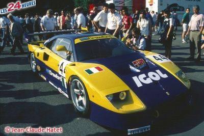 Le Mans 1996 F40 Ennea 44