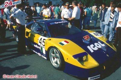 Le Mans 1996 F40 Ennea 45