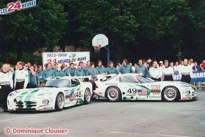 Le Mans 1996 Canaska Southwind Motorsport 49