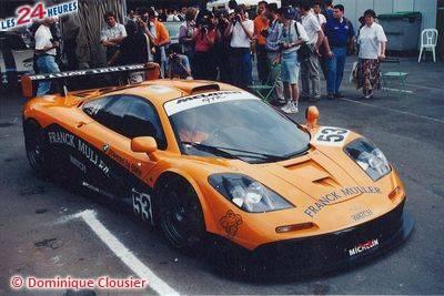 Le Mans 1996 McLaren 53