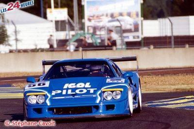 Le Mans 1996 Ferrari F40 Michel Ferté 56