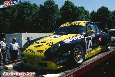 24h du Mans 1996 Porsche Stadler 72