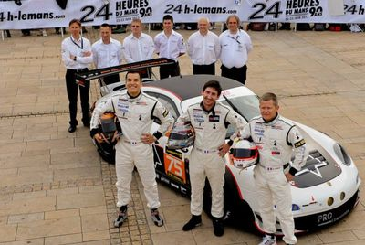 ProSpeed au départ des 24 heures du Mans 2013