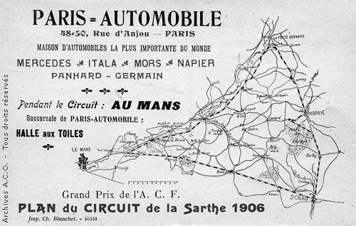 Le premier Grand Prix