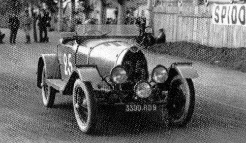1930 Bugatti Type 40 no 25 Mareuse Siko