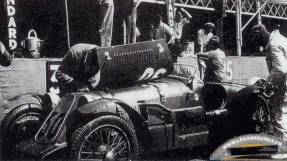 24 heures du Mans 1932 Alta no 30