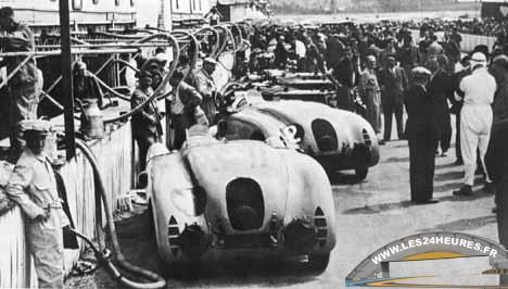 Bugatti Aux 24 Heures Du Mans 1937