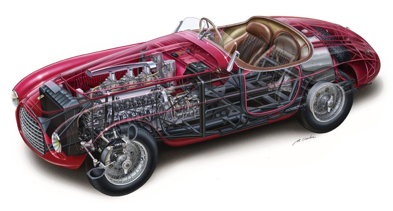Les grandes Ferrari de l'endurance. 24hdumans1949-0004