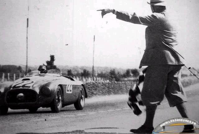 Victoire Ferrari aux 24h du Mans 1949