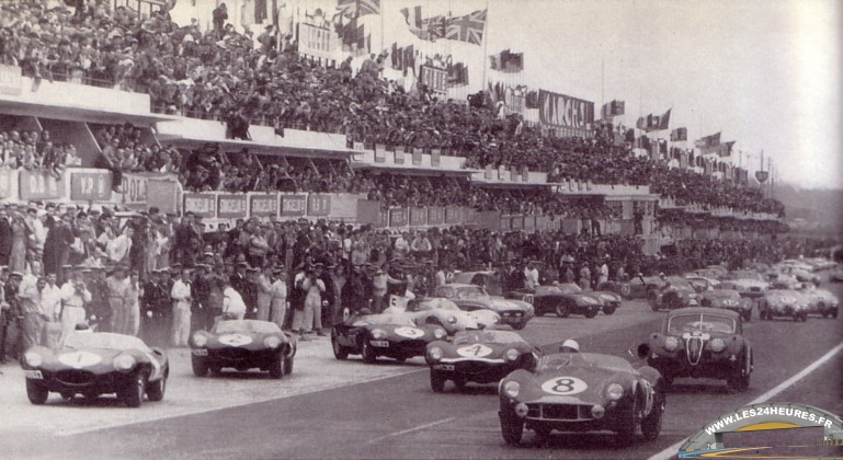24h Du Mans 1956 R 233 Sum 233 De La Course
