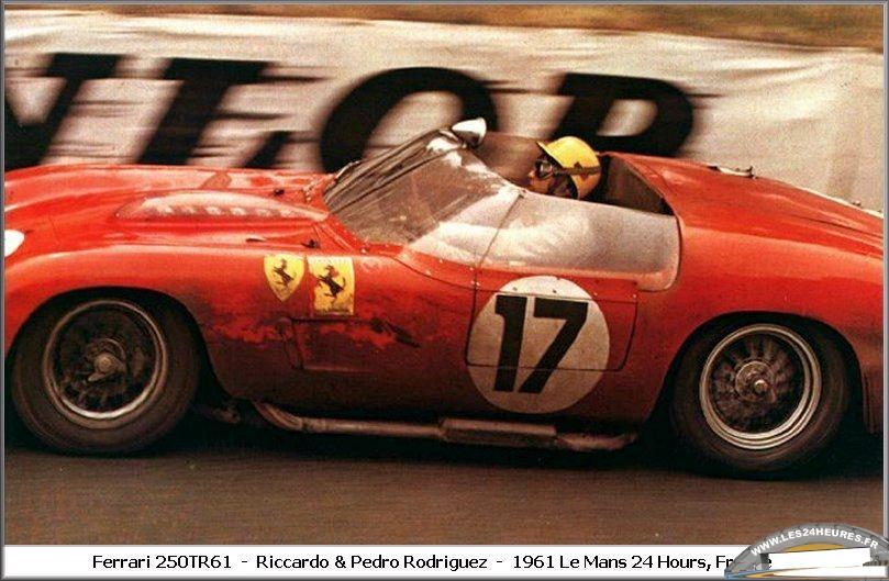 Ricardo Rodriguez 24 heures du Mans 1961