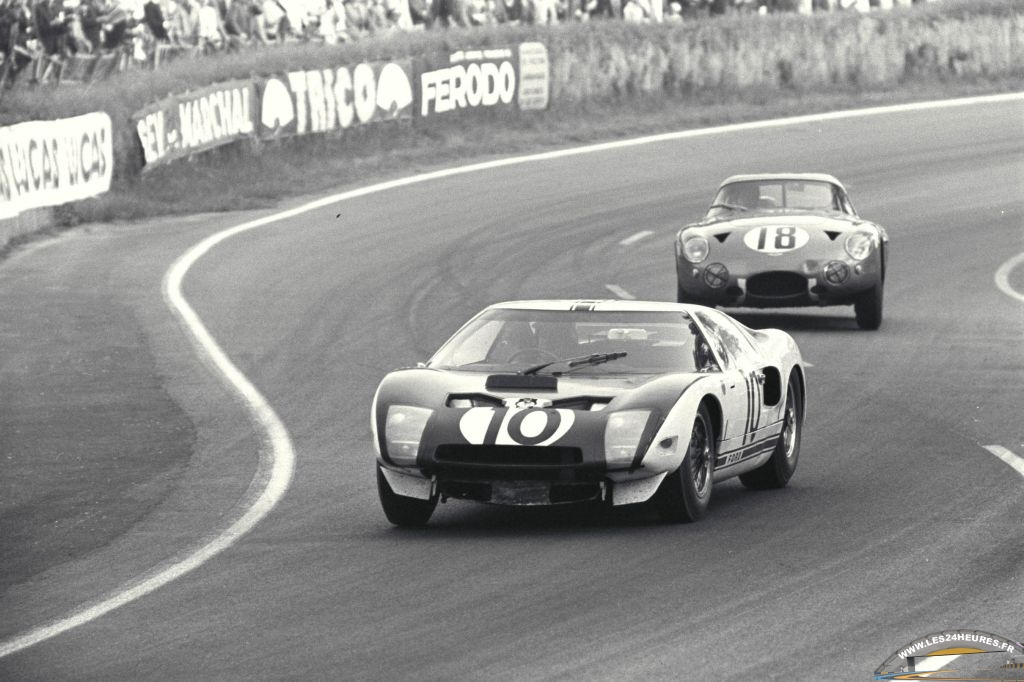 24h lemans 1964  ford gt 40