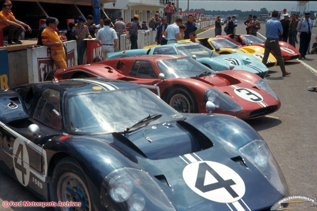 24h lemans 1967 Ford