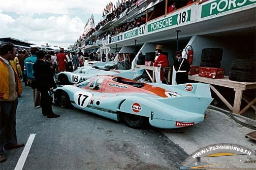 24h lemans 1971 porsche 917 longue queue