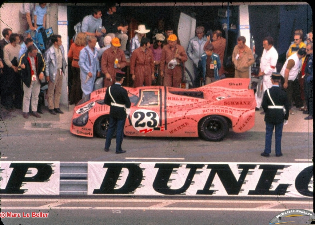 LeMans 1971 Porsche 'pink pig'
