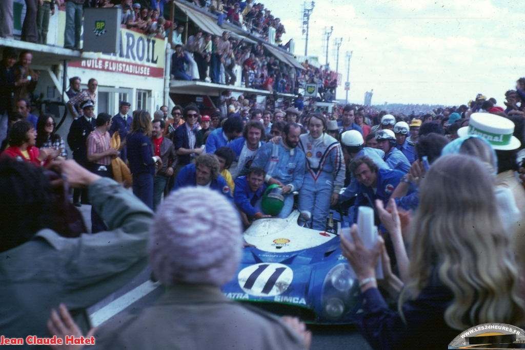 24h lemans 1972 Henri Pescarolo Graham Hill