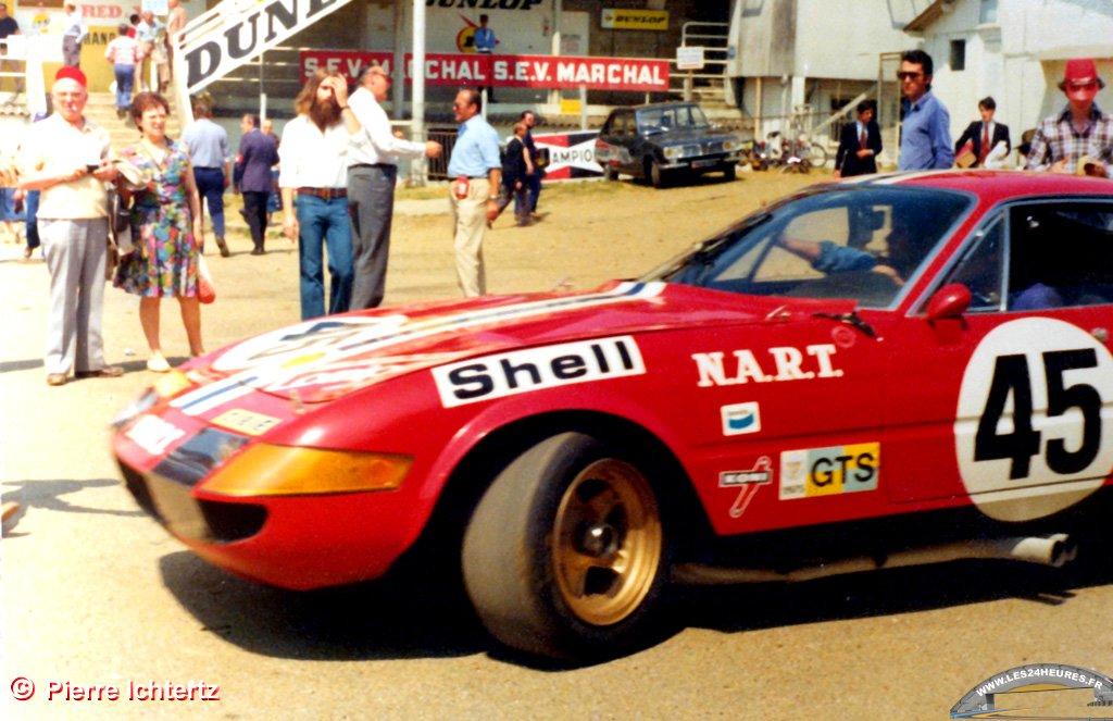 24 heures du Mans 1975 Ferrari Nart 45