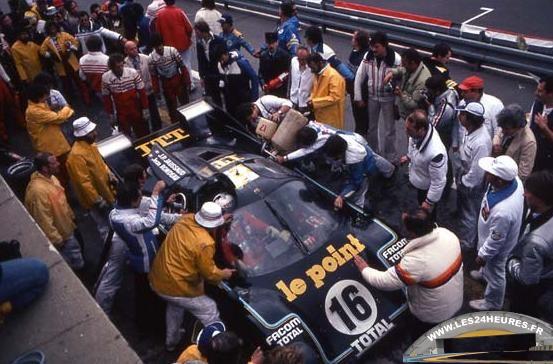 24 heures du Mans 1980 Riondeau Ford