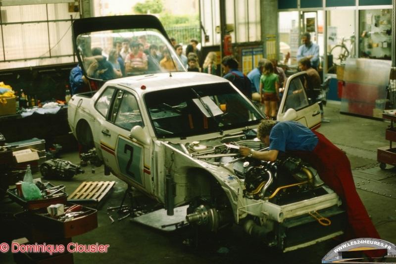 Porsche a Teloche