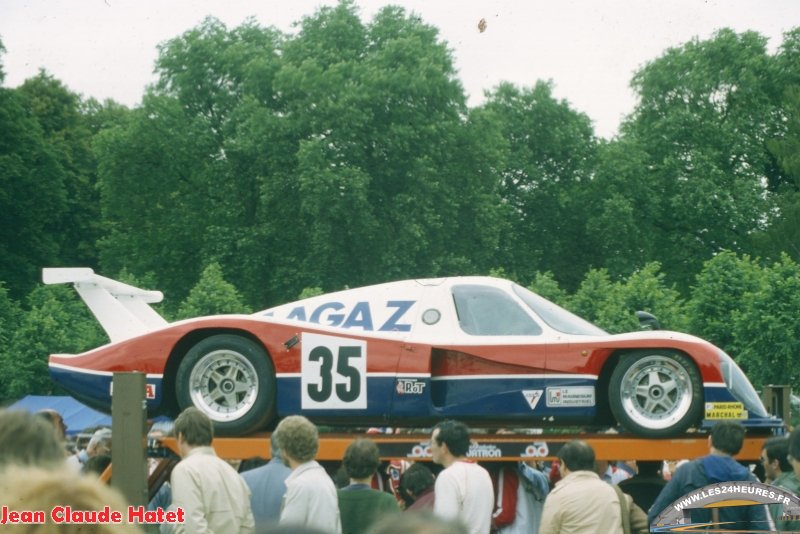 24h lemans 1982 Ford Cougar