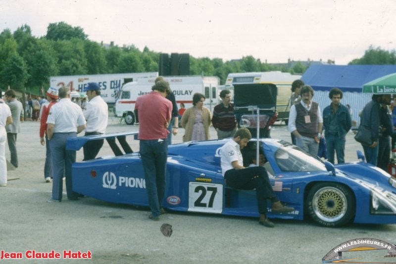 24h lemans 1982 27 Ford Mirage Andretti